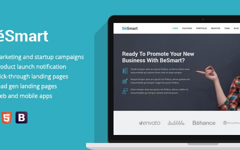 Business & Services Landing Page